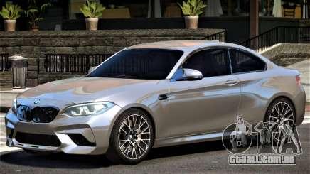 2018 BMW M2 Competition para GTA 4