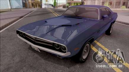 Dodge Challenger RT 1971 para GTA San Andreas