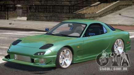 Mazda RX-7 Custom V1.0 para GTA 4