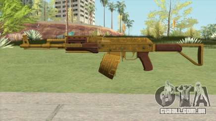 Assault Rifle GTA V Flashlight (Box Clip) para GTA San Andreas