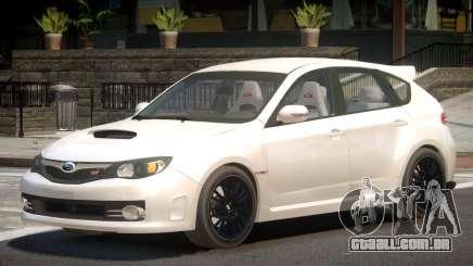 Subaru Impreza WRX STi Y9 para GTA 4