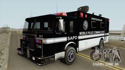 SAPD Mobile Police Base para GTA San Andreas