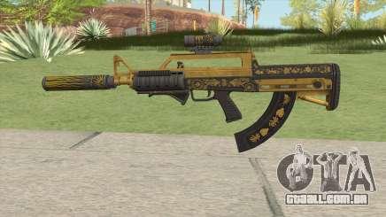 Bullpup Rifle (Three Upgrade V4) Main Tint GTA V para GTA San Andreas