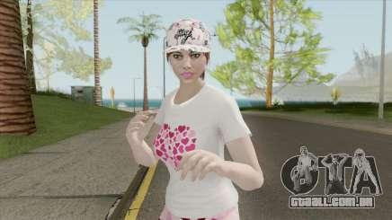 GTA Online Skin Random Female V2 para GTA San Andreas