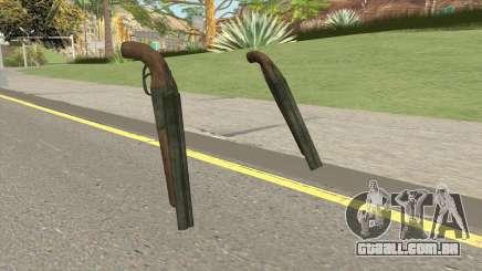 Double Barrel Shotgun GTA V (Green) para GTA San Andreas