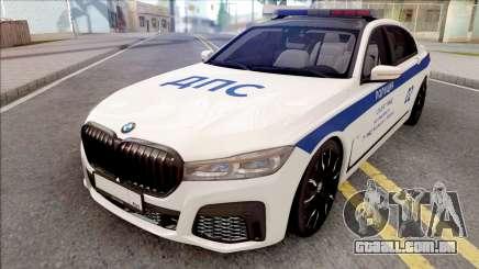 BMW M760Li 2019 DPS para GTA San Andreas