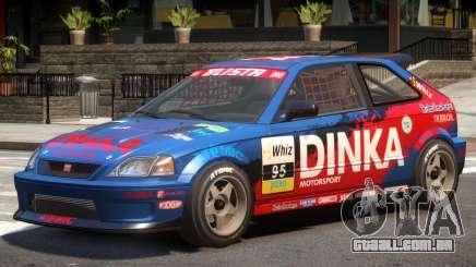 Dinka Blista Compact V1 PJ7 para GTA 4