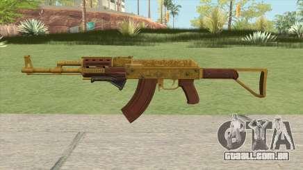 Assault Rifle GTA V Grip (Default Clip) para GTA San Andreas