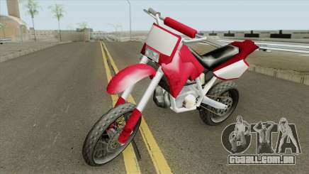 Sanchez (Project Bikes) para GTA San Andreas