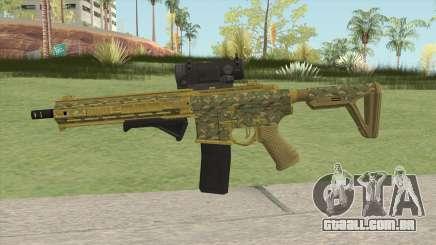 Carbine Rifle GTA V (Camuflaje) para GTA San Andreas