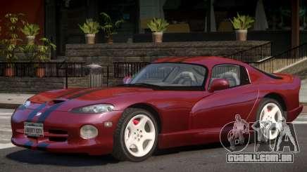 Dodge Viper V1.0 para GTA 4