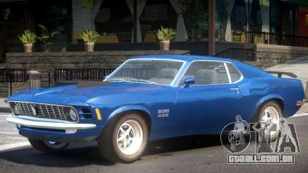 Ford Mustang BB Stock para GTA 4