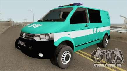 Volkswagen Transporter T6 (Zandarmeria Wojskowa) para GTA San Andreas