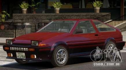 1986 Toyota Sprinter V1.2 para GTA 4