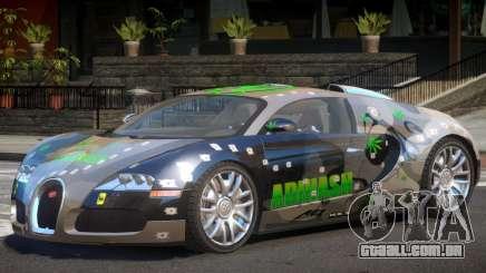 Bugatti Veyron S V1.1 PJ2 para GTA 4