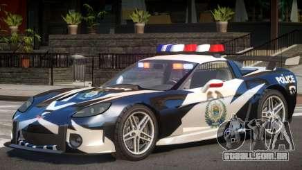 Chevrolet Corvette Police para GTA 4