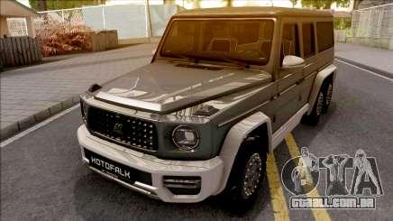 Mercedes-Benz G63 KOTOFALK para GTA San Andreas