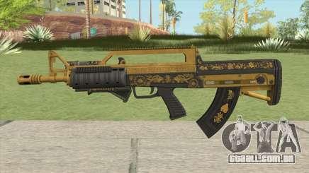 Bullpup Rifle (Two Upgrades V1) Main Tint GTA V para GTA San Andreas