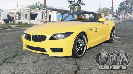 BMW Z4 sDrive28i M Sport (E89) 2012 para GTA 5