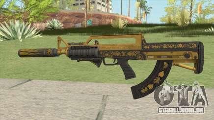 Bullpup Rifle (Three Upgrade V8) Main Tint GTA V para GTA San Andreas