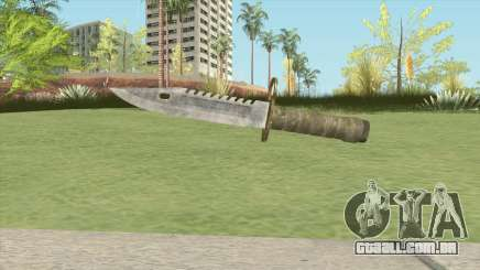 Combat Knife (RE2 Remake) para GTA San Andreas