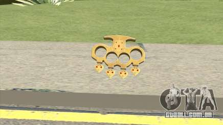 Knuckle Dusters (The Player) GTA V para GTA San Andreas