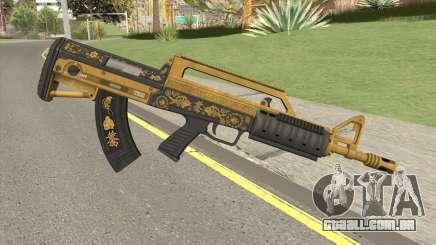 Bullpup Rifle (Base V1) Main Tint GTA V para GTA San Andreas