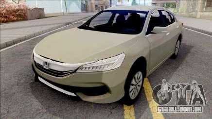 Honda Accord 2017 SA Style para GTA San Andreas
