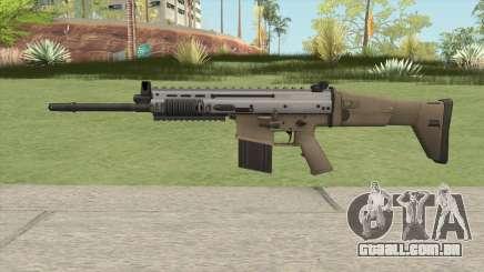 SCAR-H (Arctic Combat) para GTA San Andreas