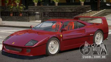 Ferrari F40 V1.0 para GTA 4