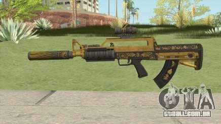 Bullpup Rifle (Three Upgrade V5) Main Tint GTA V para GTA San Andreas