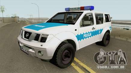 Nissan Pathfinder (Policja KMP Biala Podlaska) para GTA San Andreas