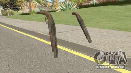 Double Barrel Shotgun GTA V (Platinum) para GTA San Andreas