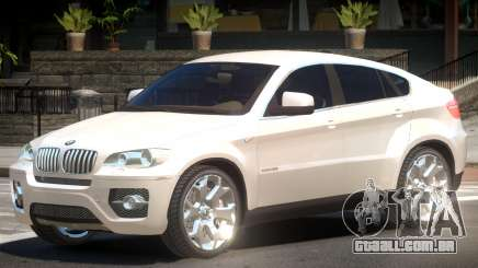 BMW X6 VS para GTA 4