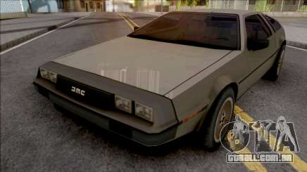 DeLorean DMC-12 1981 Grey para GTA San Andreas