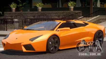 Lambo Reventon V1 para GTA 4