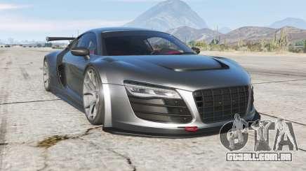 Audi R8 LMS Street Custom v1.2 para GTA 5