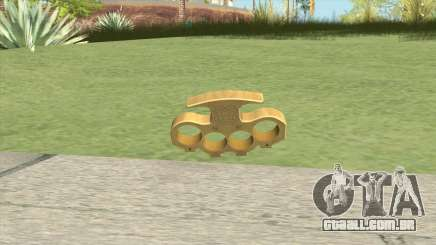 Knuckle Dusters (The King) GTA V para GTA San Andreas