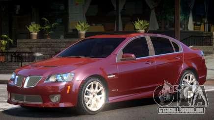 Pontiac G8 GXP V2.1 para GTA 4