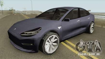 Tesla Model 3 (Low Poly) 2017 para GTA San Andreas