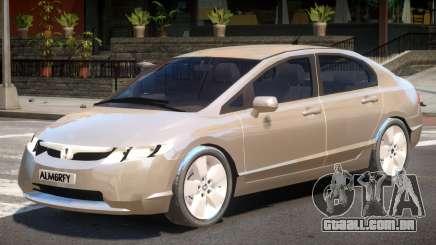 Honda Civic Y7 para GTA 4