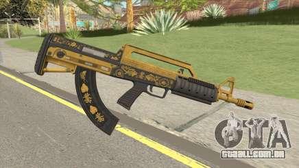 Bullpup Rifle (Base V2) Main Tint GTA V para GTA San Andreas