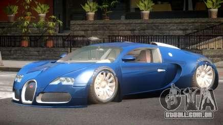 Bugatti Veyron GT para GTA 4