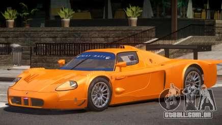 Maserati MC12 R V1 para GTA 4
