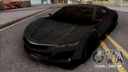 Acura NSX 2017 Lowpoly para GTA San Andreas