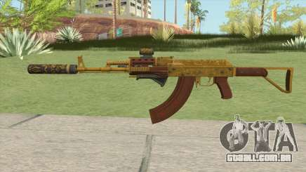 Assault Rifle GTA V (Complete Upgrade V2) para GTA San Andreas