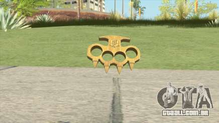 Knuckle Dusters (The Ballas) GTA V para GTA San Andreas