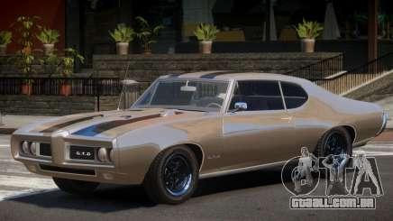 1968 Pontiac GTO para GTA 4
