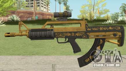 Bullpup Rifle (Scope V2) Main Tint GTA V para GTA San Andreas