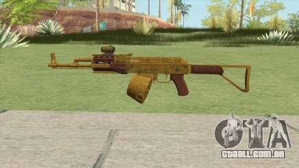 Assault Rifle GTA V Scope (Box Clip) para GTA San Andreas
